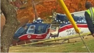 TENN. MEDIC CHOPPER GOES DOWN, ALL SURVIVE