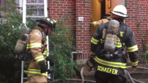 DC FIREFIGHTER INJURED AT APARTMENT FIRE