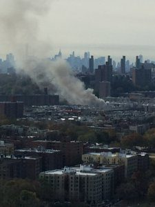 5 FDNY FIREFIGHTERS INJURED AT 5th ALARM