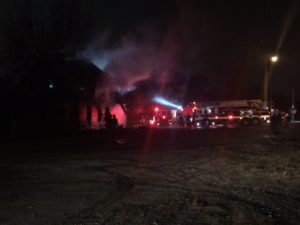 3 INDY FIREFIGHTERS INJURED AT VACANT HOUSE FIRE