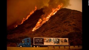 MAYDAY ALERT AT THOMAS FIRE IN CA