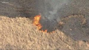 TX FIREFIGHTER BURNED AT GRASS FIRE