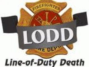 NJ FIREFIGHTER-LODD-ON FIRE APPARATUS WHILE RESPONDING-MEDICAL