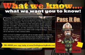 FOR YOUR CHRISTMAS & HOLIDAY GIFT CONSIDERATION (Non Profit Gift-All Proceeds To Firefighter Charity)
