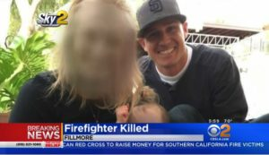 CALIF. LODD FIREFIGHTER LEAVES BEHIND PREGNANT WIFE, 2-YEAR-OLD