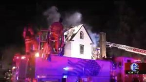 5 PEOPLE INCLUDING FIREFIGHTER INJURED AT NJ FIRE