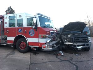 3 CO FIREFIGHTERS INJURED IN APPARATUS CRASH – 1 SERIOUS