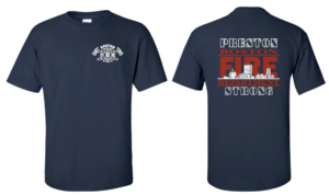 39 Year Old BOSTON FIREFIGHTER / LIEUTENANT – CANCER FIGHT FUND RAISER-T SHIRT SALE