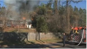 THREE S.C. FIREFIGHTERS BURNED AT HOUSE FIRE
