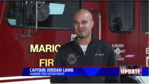 INJURED FIREFIGHTER: 'ARSON IS NOT SOMETHING TO PLAY WITH'