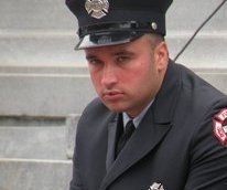 NEWARK, NJ FIREFIGHTER CRITICAL AFTER BEING TRAPPED AT FIRE