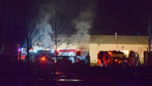 6 FIREFIGHTERS HURT IN MARION, IN