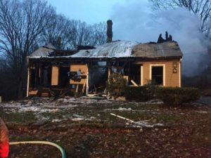 MASSACHUSETTS FIREFIGHTER LINE OF DUTY DEATH-COLLAPSES AT SCENE OF WORKING HOUSE FIRE