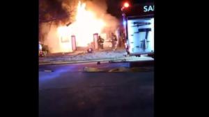 MAYDAY IN SAN ANTONIO – 3 FIREFIGHTERS ESCAPSE FLASHOVER