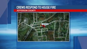 PA FIREFIGHTER INJURED AT HOUSE FIRE