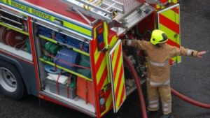 FIREFIGHTER INJURED AFTER CREW ATTACKED AT FIRE IN SCOTLAND