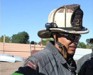 COLO. FIREFIGHTER BREAKS 7 RIBS IN FALL AT COMMERCIAL FIRE