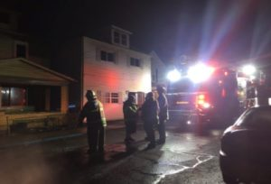 TWO PA. FIREFIGHTERS HURT AT 2-ALARM FIRE