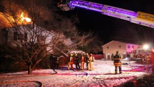 PENNSYLVANIA FIREFIGHTERS BURNED-CIVILIAN KILLED-HOUSE FIRE