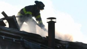 BALTIMORE FIREFIGHTER INJURED AT HOUSE FIRE