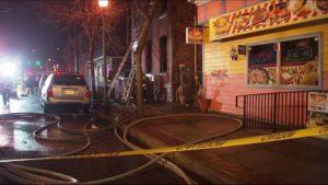 FATAL FIRE IN TRENTON LEAVES FIREFIGHTER INJURED