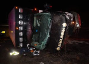 LODD: EMT Driver Falls Asleep-Technician Ejected & Killed In The Line of Duty