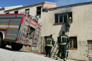 5 ZA FIREFIGHTERS INJURED AT FIRE