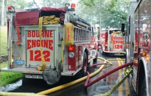 MASS FIREFIGHTERS CALL MAYDAY AT BASEMENT FIRE