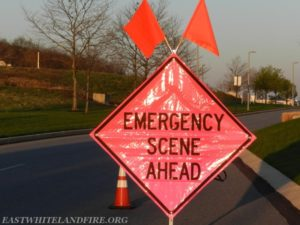 FIREFIGHTER STRUCK ON INTERSTATE – WISCONSIN