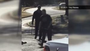 MAN SHOT & KILLED AT FIRE/EMS SCENE (Video)