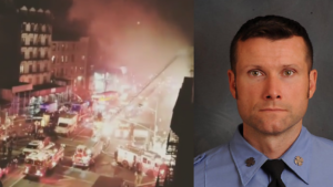 FDNY FIREFIGHTER DIES IN THE LINE OF DUTY