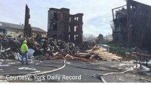 UPDATE: FIREFIGHTER KILLED IN YORK, PA FIRE COLLAPSE , OTHERS INJURED