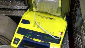 FIREFIGHTER SUFFERS CARDIAC ARREST IN PA