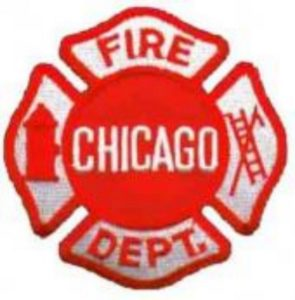 CHICAGO FIREFIGHTER INJURED AT ARSON FIRE