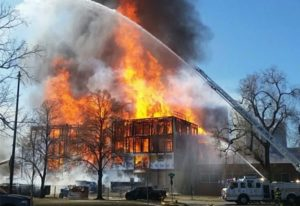 DENVER: 6-BUILDING FIRE LEAVES 1 FIREFIGHTER CRITICAL, 2 CIVILIANS MISSING