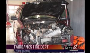 ALASKAN FIREHOUSE BURNS, SPRINKLERS CONTAIN DAMAGE