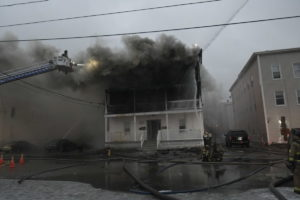 NH FIREFIGHTERS INURED AT APARTMENT FIRE