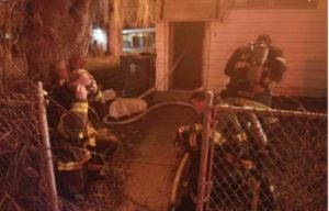 TWO ILL. FIREFIGHTERS SUFFER MINOR INJURIES