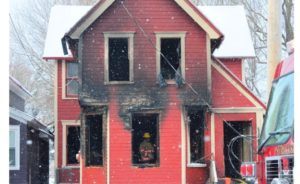 1 N.Y. FIREFIGHTER, 4 RESIDENTS HURT IN HOUSE FIRE