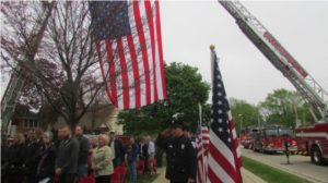 ILL. FIRE CHIEF ADDRESSES PTSD AT LODD MEMORIAL