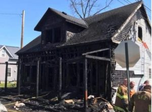 OHIO FIREFIGHTER TREATED FOR SMOKE INHALATION