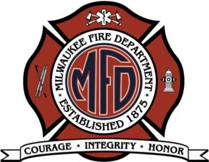 WI FIREFIGHTER HOSPITALIZED AFTER FIRE