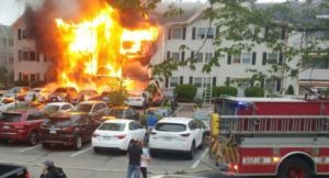 DIFFERENT FIRES ACROSS BOSTON INJURE 2 FIREFIGHTERS