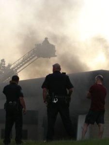 TN FIREFIGHTER SUFFERS SMOKE INHALATION AT FIRE