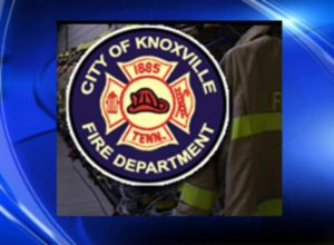FIREFIGHTER FALLS, LOSES MASK AT WORKING FIRE-HOSPITALIZED