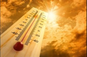 THREE IND. FIREFIGHTERS HOSPITALIZED FOR HEAT ILLNESS