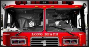 CALIF. FIREFIGHTER SHOT AT 3-ALARM FIRE