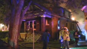 CHICAGO FIREFIGHTER INJURED AT SOUTHSIDE FIRE