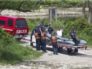2 CANADIAN FIREFIGHTERS INJURED – INFLATIBLE BOAT TRAINING MISHAP