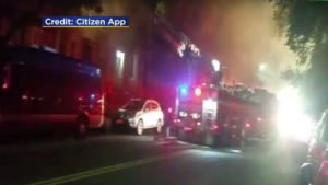 5 FDNY FIREFIGHTERS INJURED AT BROOKLYN FIRE